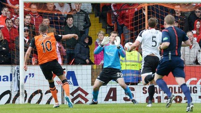 Highlights - Dundee United 1-0 Aberdeen