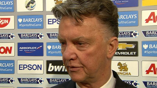 Louis van Gaal's thoughts on the West Brom match