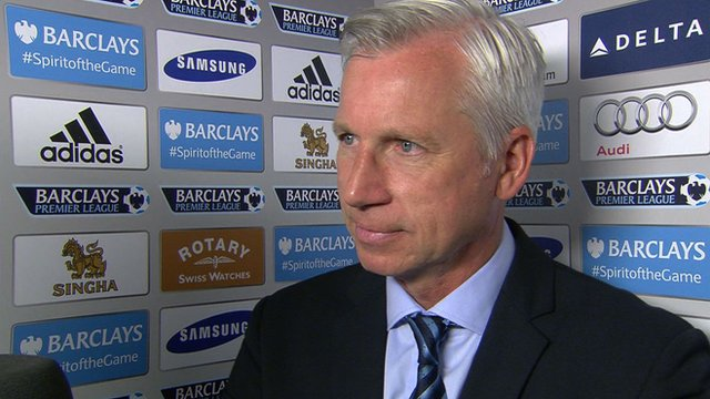 Penalty decision tough call - Pardew