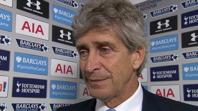 Pellegrini thoughts on victory over Tottenham