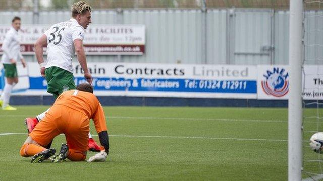 Highlights - Falkirk 0-3 Hibernian