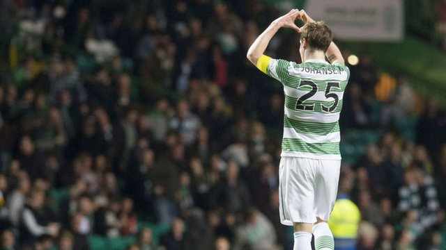 Celtic four in a row