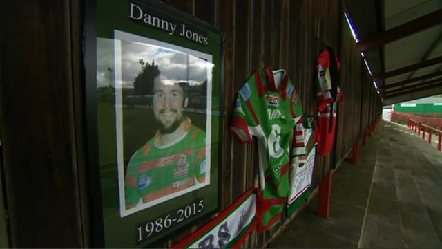 Danny Jones tribute