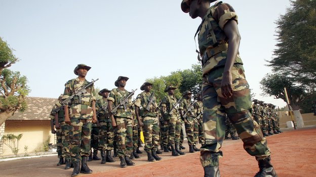 Senegalese soldiers (fple photo)