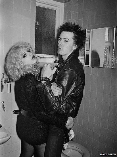 Sid Vicious a Nancy Spungen, Cricklewood, Llundain // London, 1978