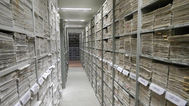 Files at the International Tracing Service, Bad Arolsen