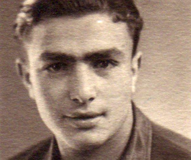 Jacob Bresler, aged 18, in Landsberg Displaced Persons Camp