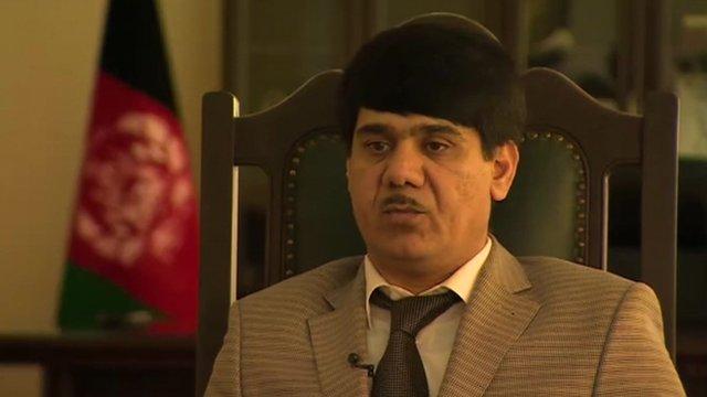 Provincial governor of Kunduz, Mohammed Omer Safi