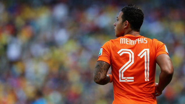 Memphis Depay: Manchester United's new signing at World Cup