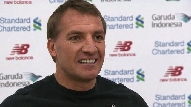 Rodgers thoughts on Sturridge set back
