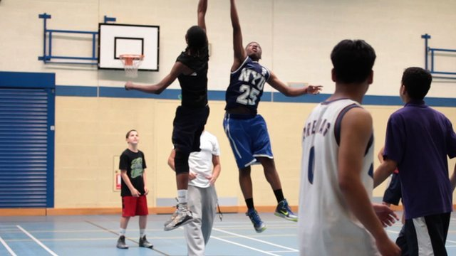 Why is basketball so popular in the UK?