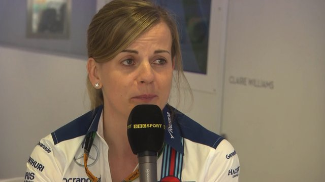 Williams test driver Susie Wolff