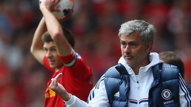 Steven Gerrard, Jose Mourinho