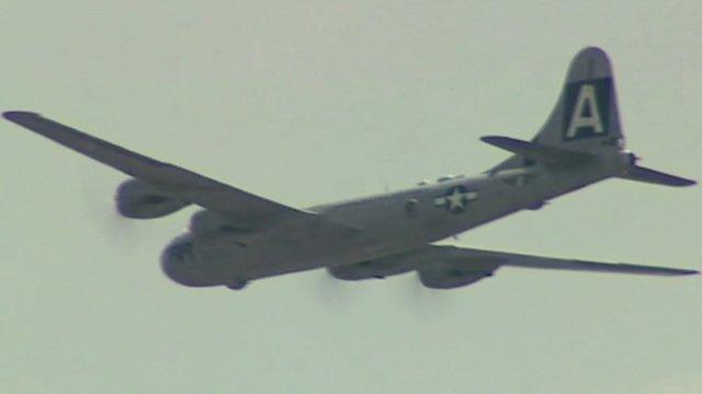 A B29 bomber