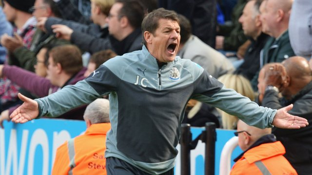 Newcastle 1-1 West Brom: John Carver says players now up for fight