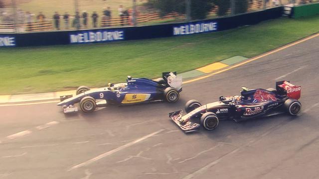 Sauber overtakes Torro Rosso