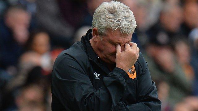 Hull 0-1 Burnley: Nowhere near standard required - Bruce
