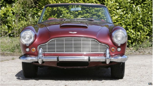 The ultra-rare left hand drive 1962 Aston Martin DB4 Series IV Vantage Convertible originally owned by Sir Peter Ustinov
