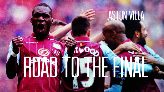FA Cup final: How Aston Villa made it to Wembley