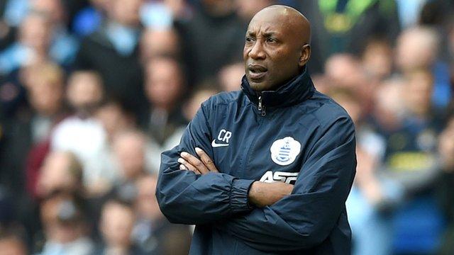 QPR boss Chris Ramsey