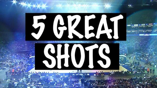 Five great shots