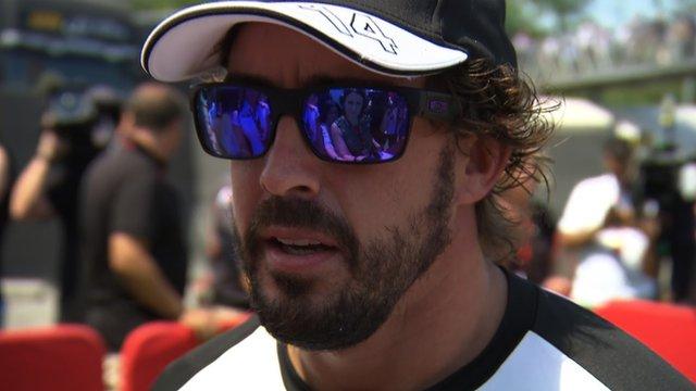 McLaren's Fernando Alonso