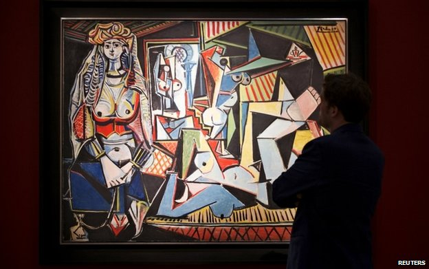 Picasso painting The Women of Algiers