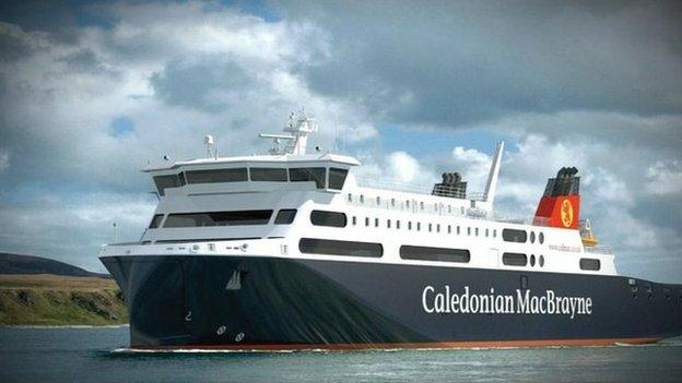 An MV Loch Seaforth