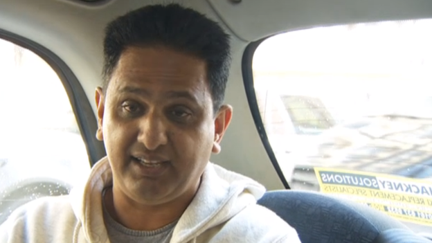 Taxi driver Mohammed Arif