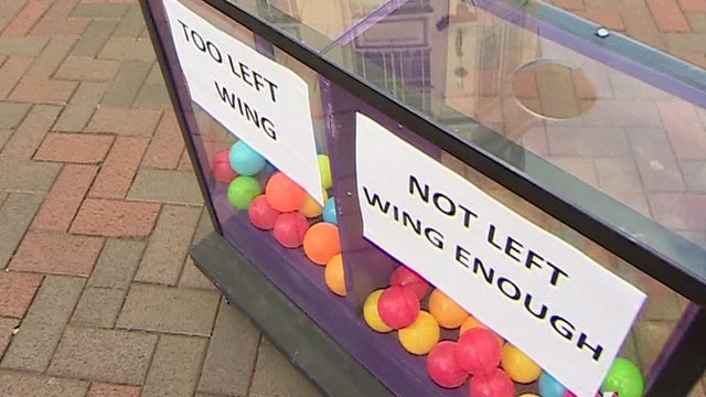 Daily Politics mood box in Bedford