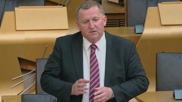 Labour MSP Alex Rowley