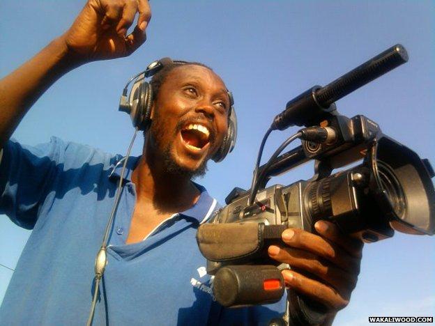 Filmmaker Isaac Nabwana
