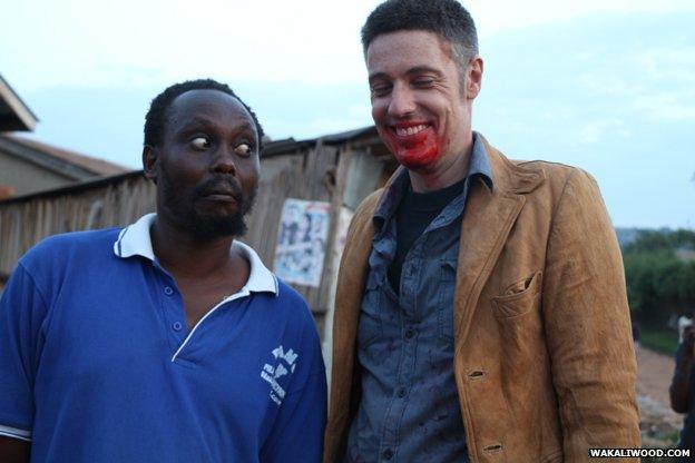 Isaac Nabwana and Alan Ssali Hofmanis