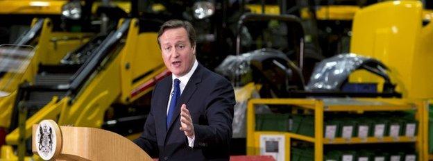 David Cameron delivers EU speech