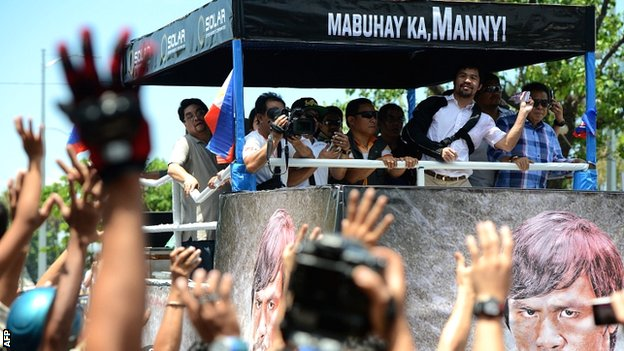 BBC Sport - Manny Pacquiao: Retirement decision on hold after surgery