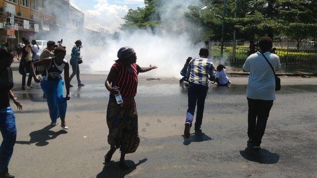 Protests in Bujumbura