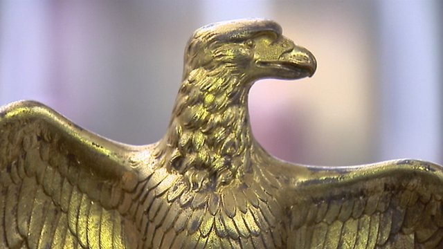 Eagle standard from the Battle of Waterloo