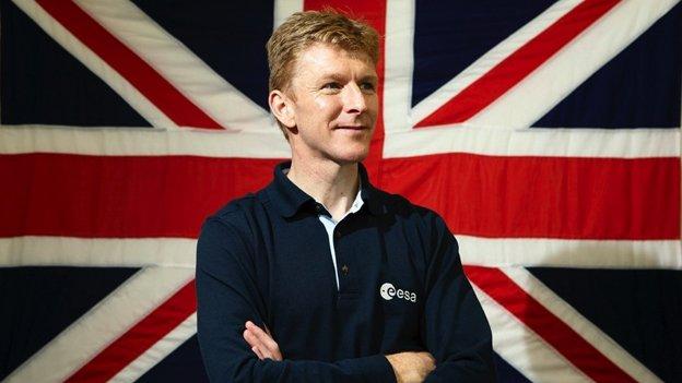 UK astronaut Tim Peake