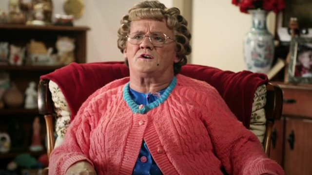 Mrs Brown in Irish referendum film