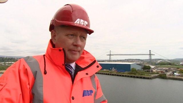 Matthew Kennerley of Associated British Ports
