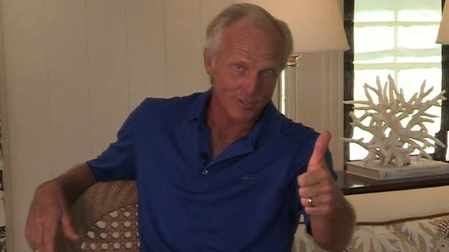 Greg Norman tells BBC Sport why he will not be heading to The Open