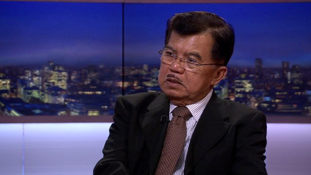 Indonesian Vice-President Jusuf Kalla