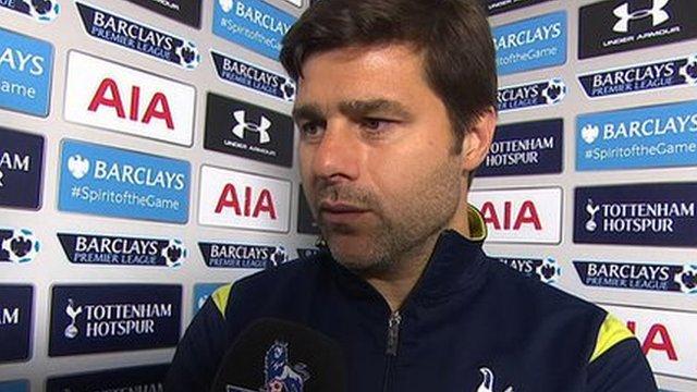 Tottenham Hotspur head coach Mauricio Pochettino