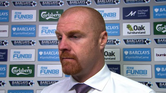 Sean Dyche's thoughts on 0-0 draw with Stoke