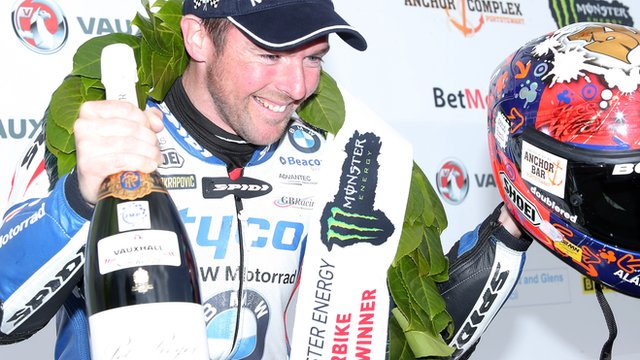 Alastair Seeley won a total of three races at the 2015 NW200