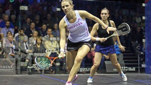 Laura Massaro loses British Open final to Camille Serme