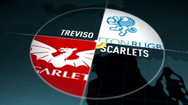 Treviso v Scarlets