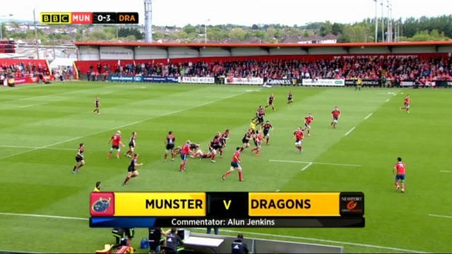Munster v Dragons