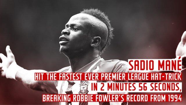 Sadio Mane & Lee Cattermole into Premier League record books