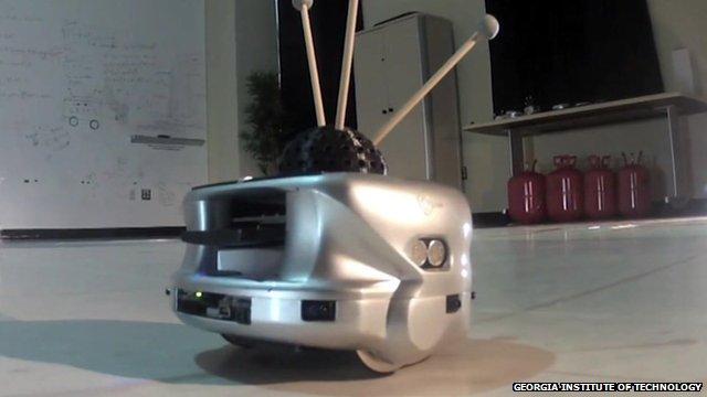 A swarm robot